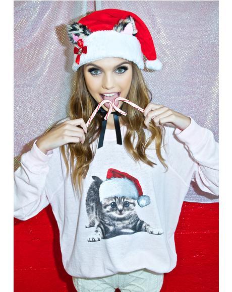 Meowy Christmas Kim's Sweater