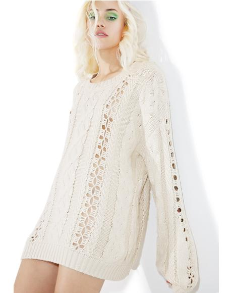 Wythe Bell Sleeve Sweater