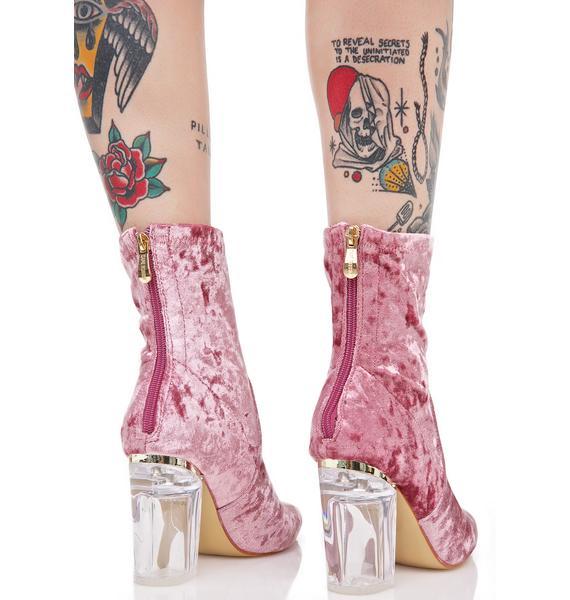 Velvet Rose Saturn Boots