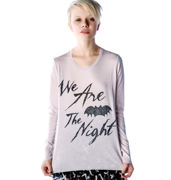 Zoe Karssen We are the Night Long Sleeve Tee