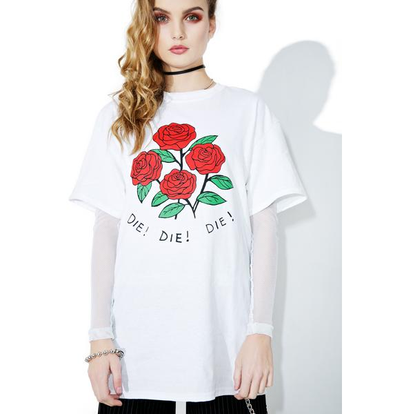 Creepy Gals Daisies Tee