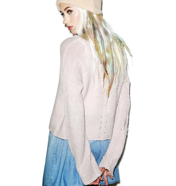 Wildfox Couture Terra Crop Sweater