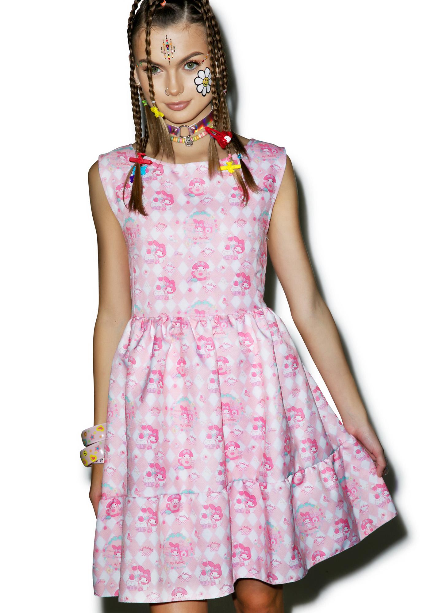 Japan L.A. My Melody Sugar Dream Dress