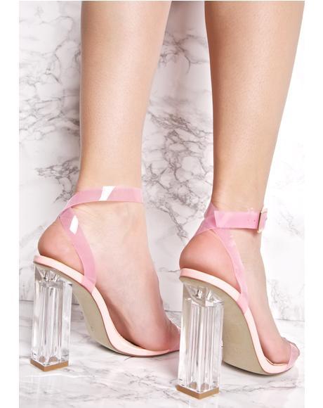 Sweet Venus Lucite Heels