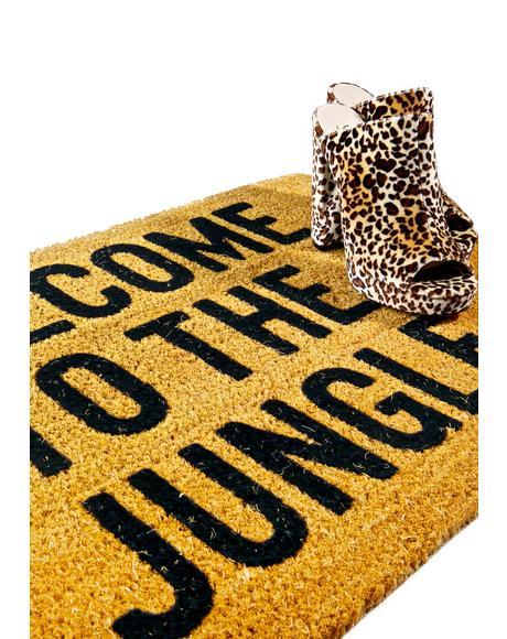 Animal Haus Door Mat