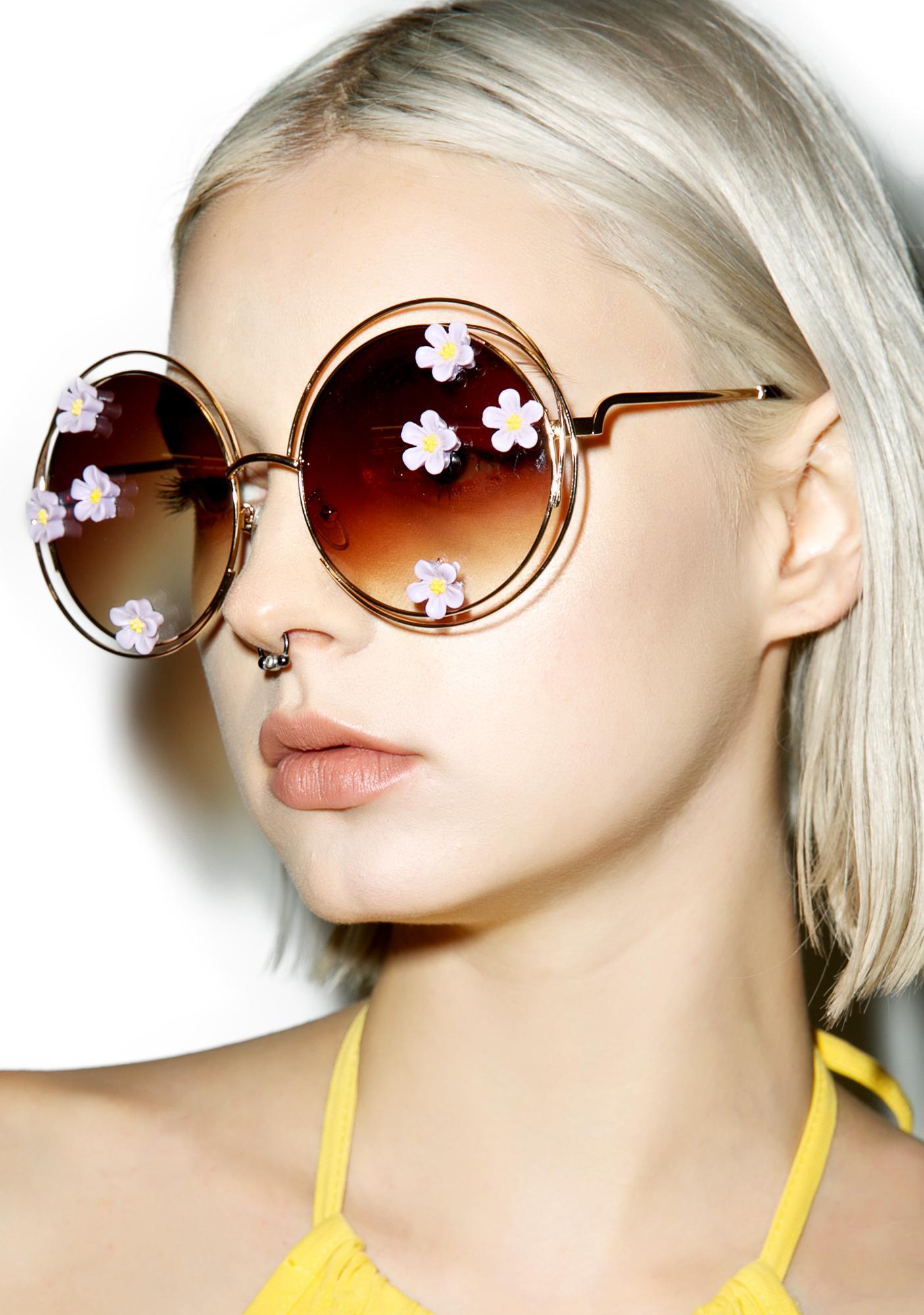 Gasoline Glamour Morning Glory Sunglasses