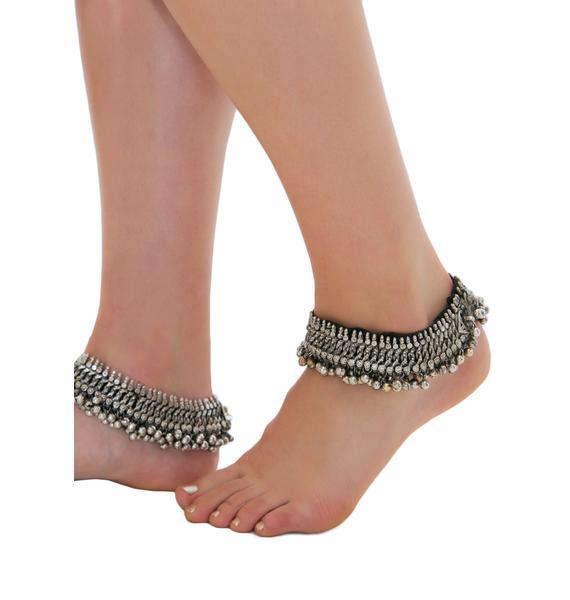 Rock n Rose Joslin Decorated Anklets