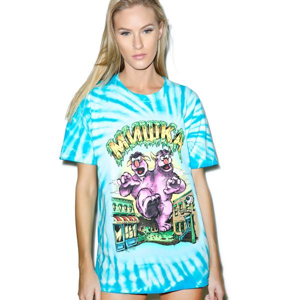 Mishka Lamour Supreme's 2 Headed Monster T-Shirt