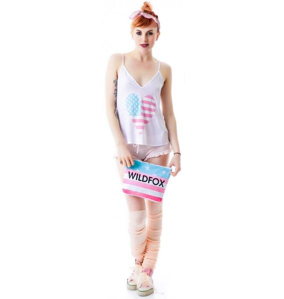Wildfox Couture American Heart Cami Clutch