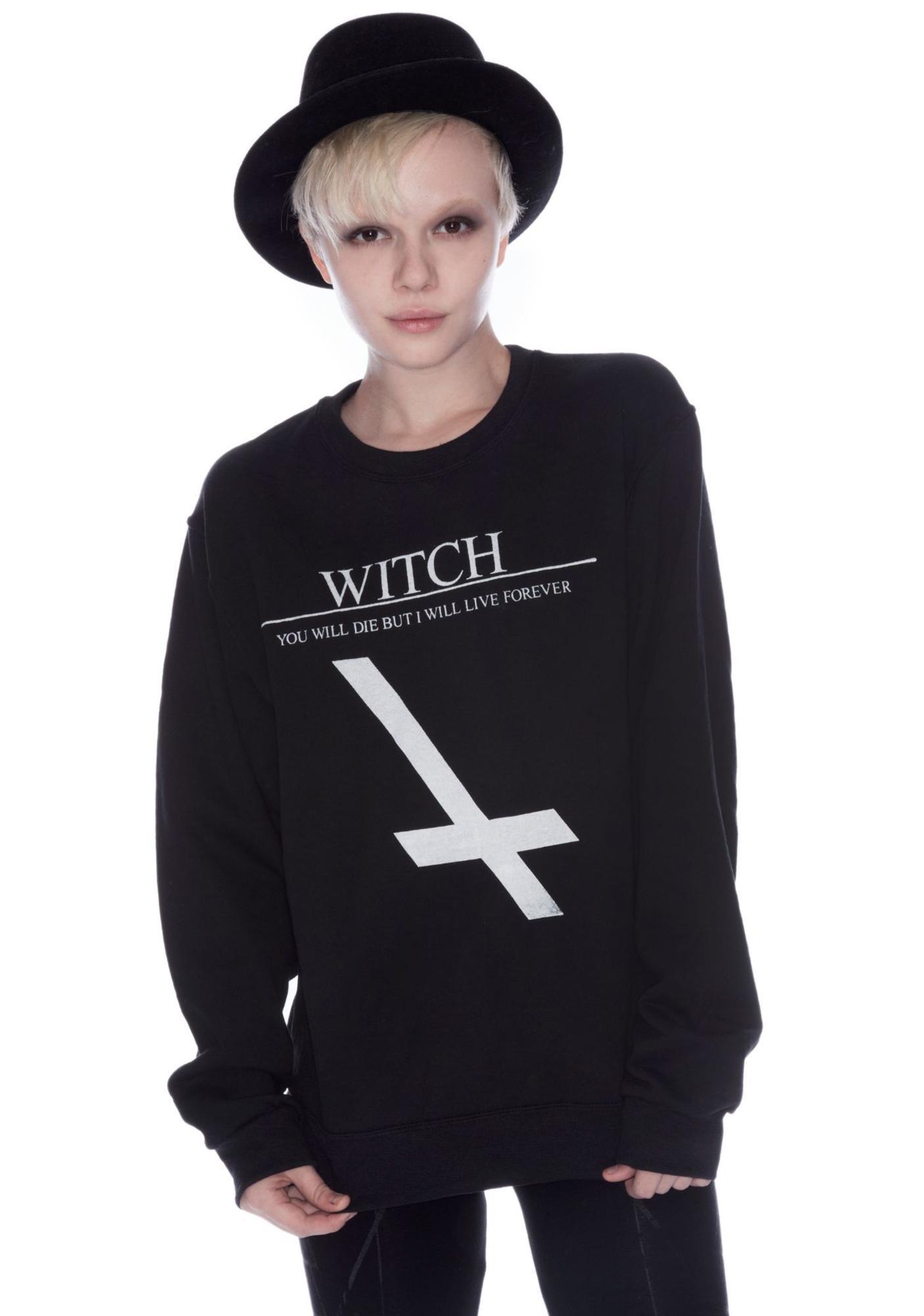 Shop W.A.S. Witch Sweater