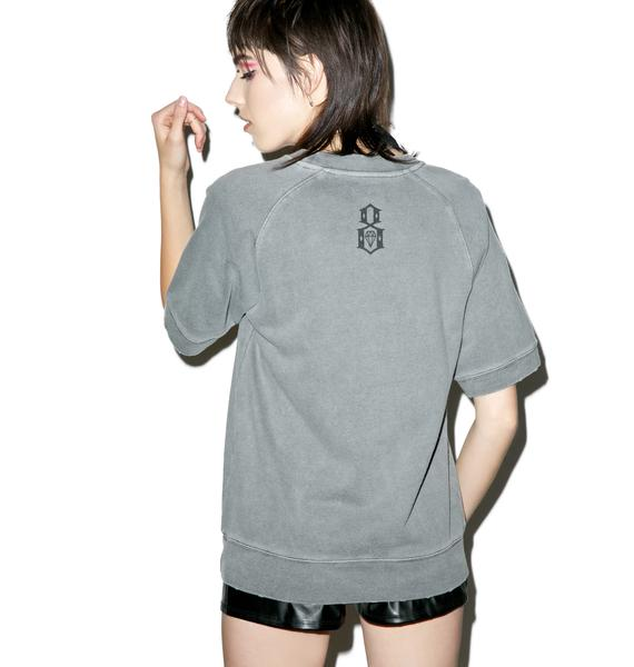 Rebel8 Conspiracy Short Sleeve Crewneck