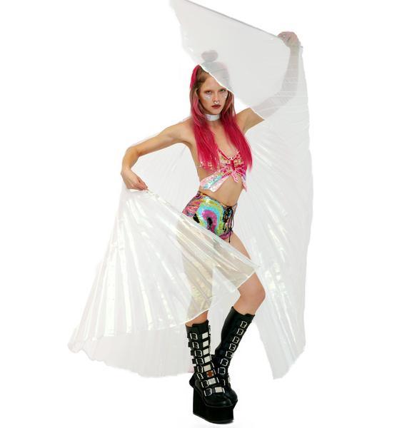 Flutterfly Pearl Angel Wings