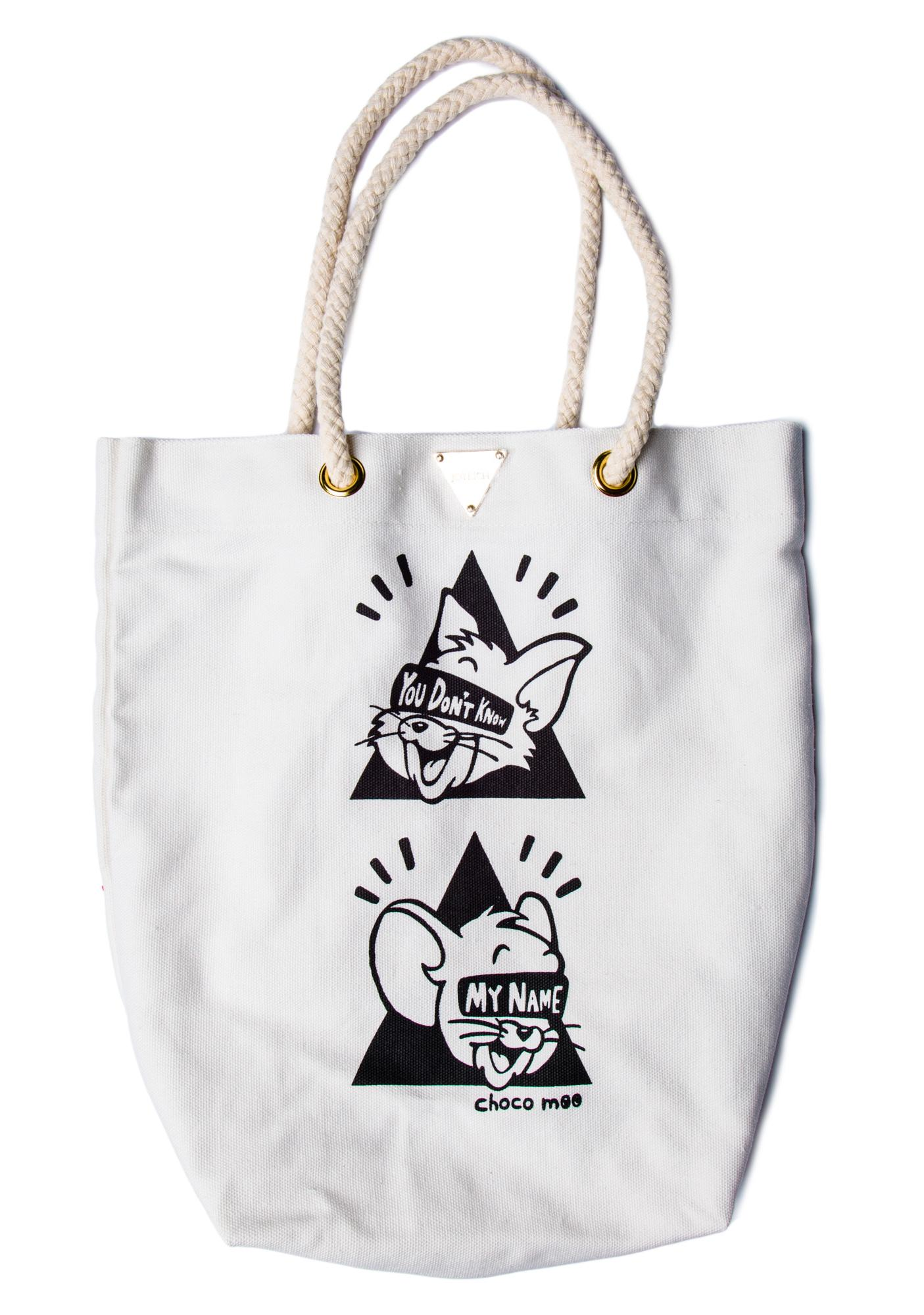 Joyrich You Don't Know My Name Tote Bag