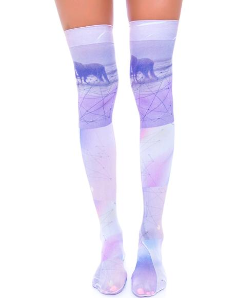 Unicorn Thigh High Sox