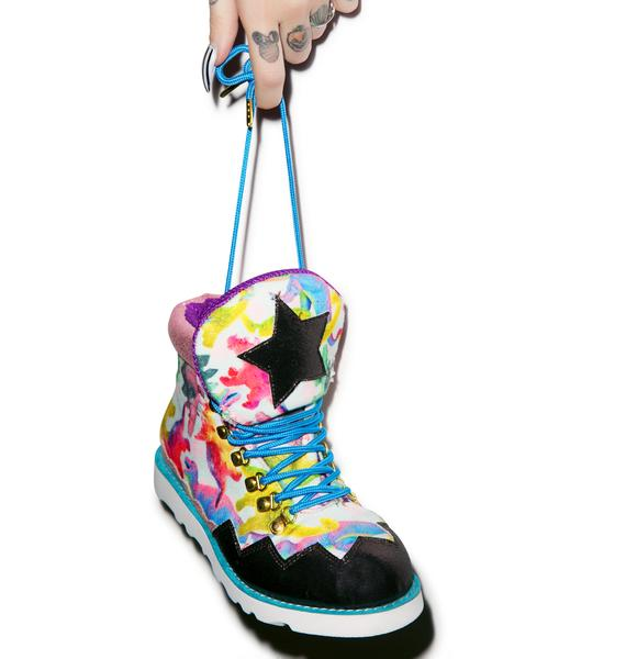 Irregular Choice Touching The Void Boots