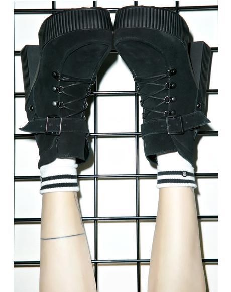 Buckle Strap Yuni Boots