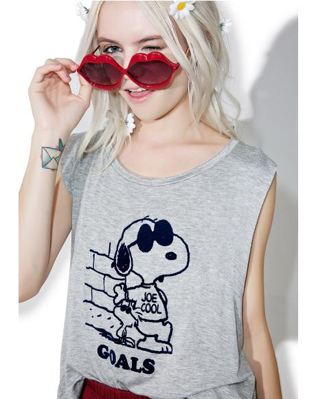 Snoopy Goals Tank