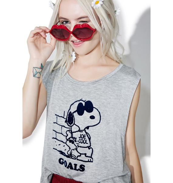 Daydreamer Snoopy Goals Tank