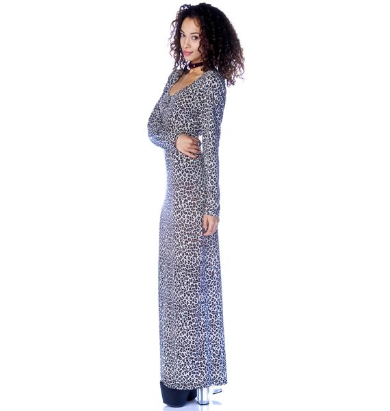 Afriiika Wrapped Maxi Dress