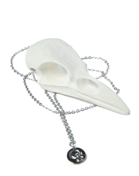Crowskull Necklace