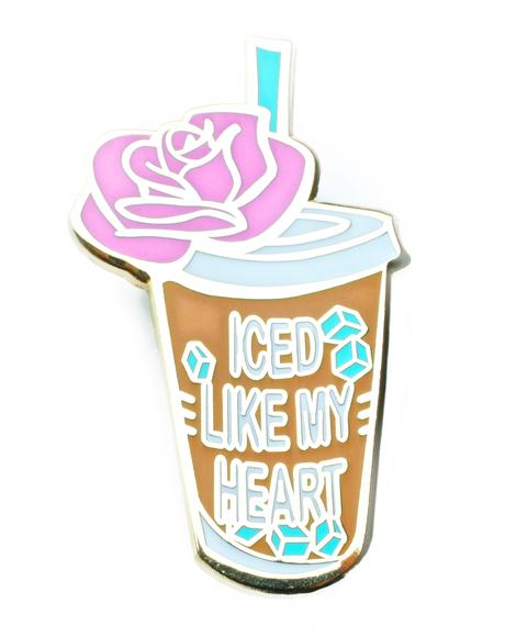 Iced Like My Heart Pin