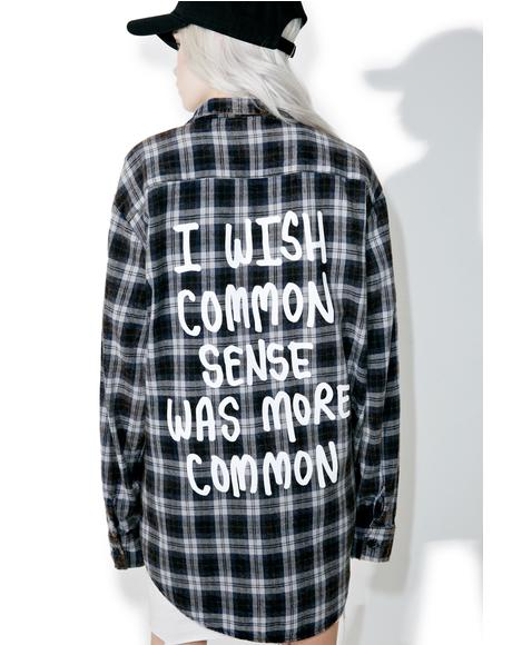 Common Sense Flannel