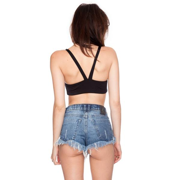 Wildfox Couture Solid Top Bikini