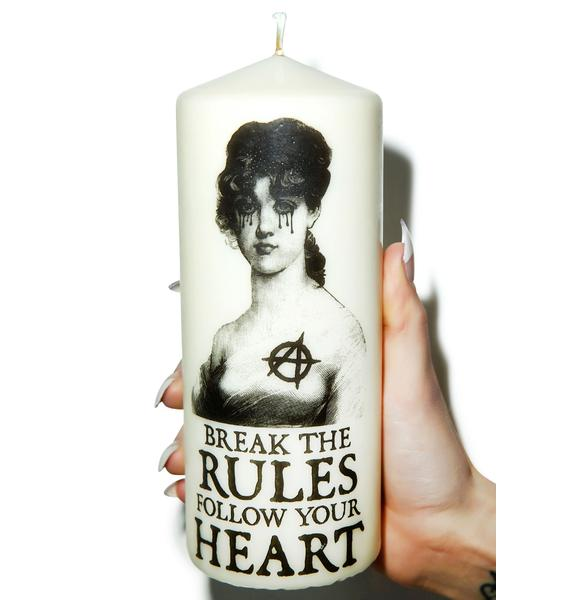 Break The Rules Candle
