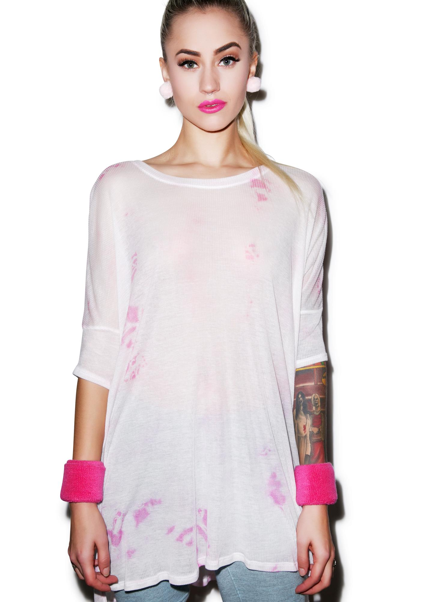 Wildfox Couture Watercolor Sunday Morning Tee