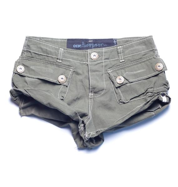 One Teaspoon Defender Shorts