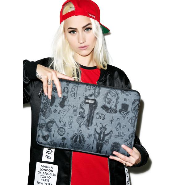Rebel8 Giant Flash Laptop Sleeve