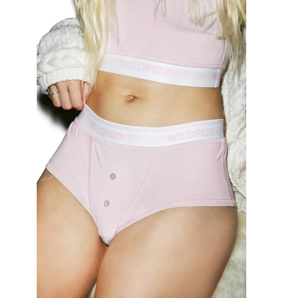 Wildfox Couture Pout Pink Tomboy Brief