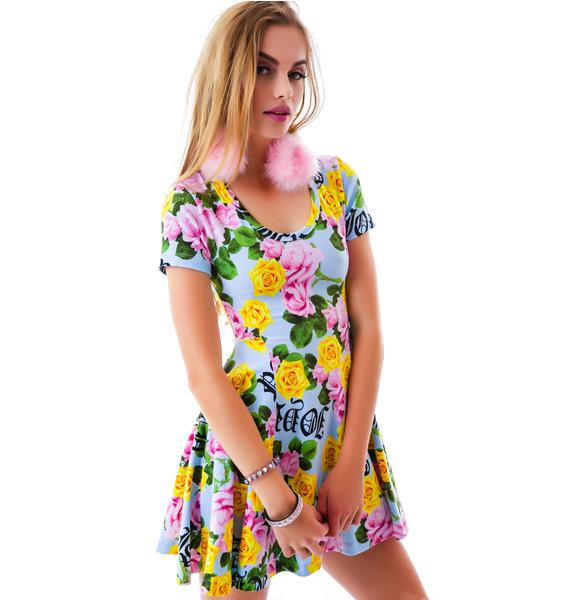 Joyrich Memorial Garden Skater Dress