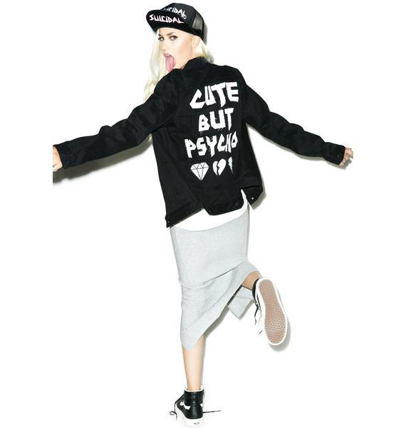 High Heels Suicide Cute But Psycho Jacket