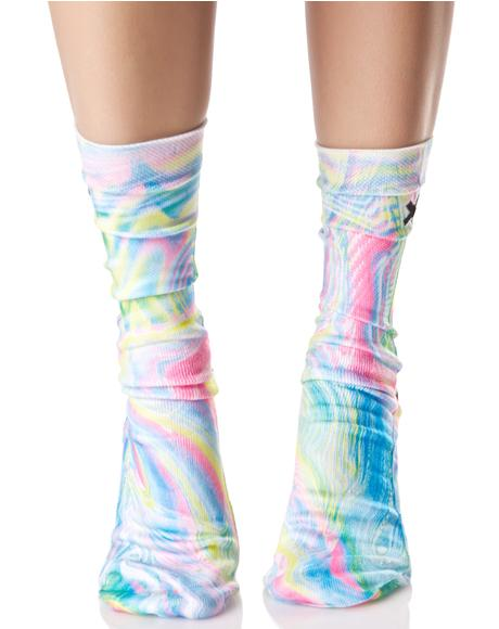 Holographic Socks