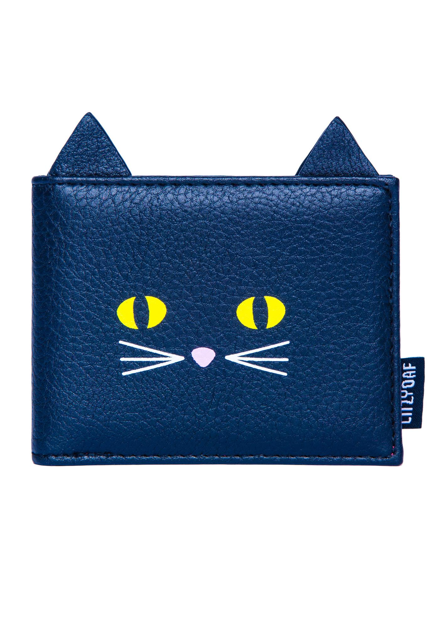 Lazy Oaf Kitty Cat Pass Case