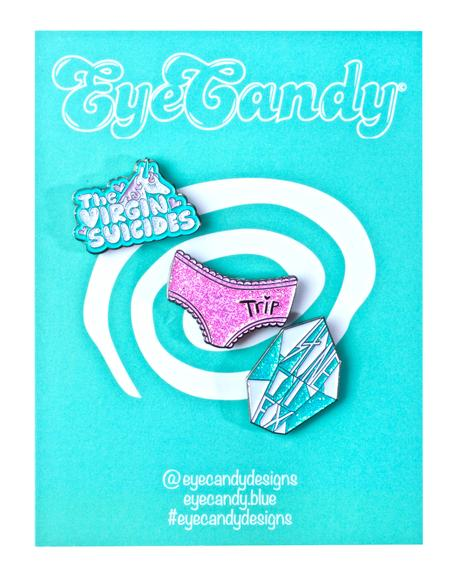 The Virgin Suicides Enamel Pin Set