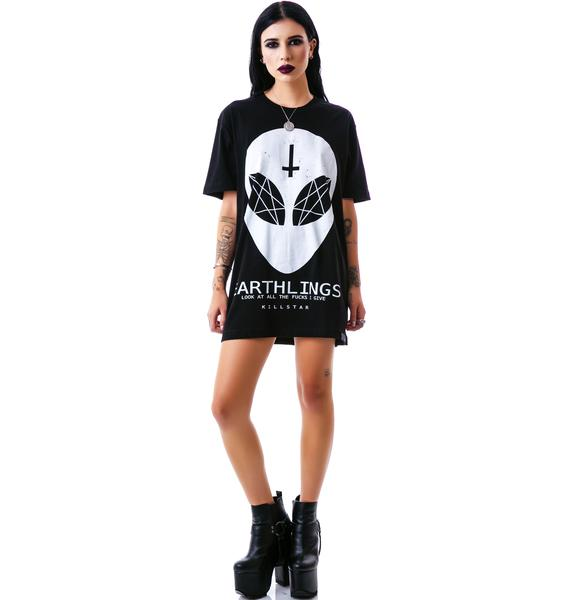 Killstar Earthlings T Shirt