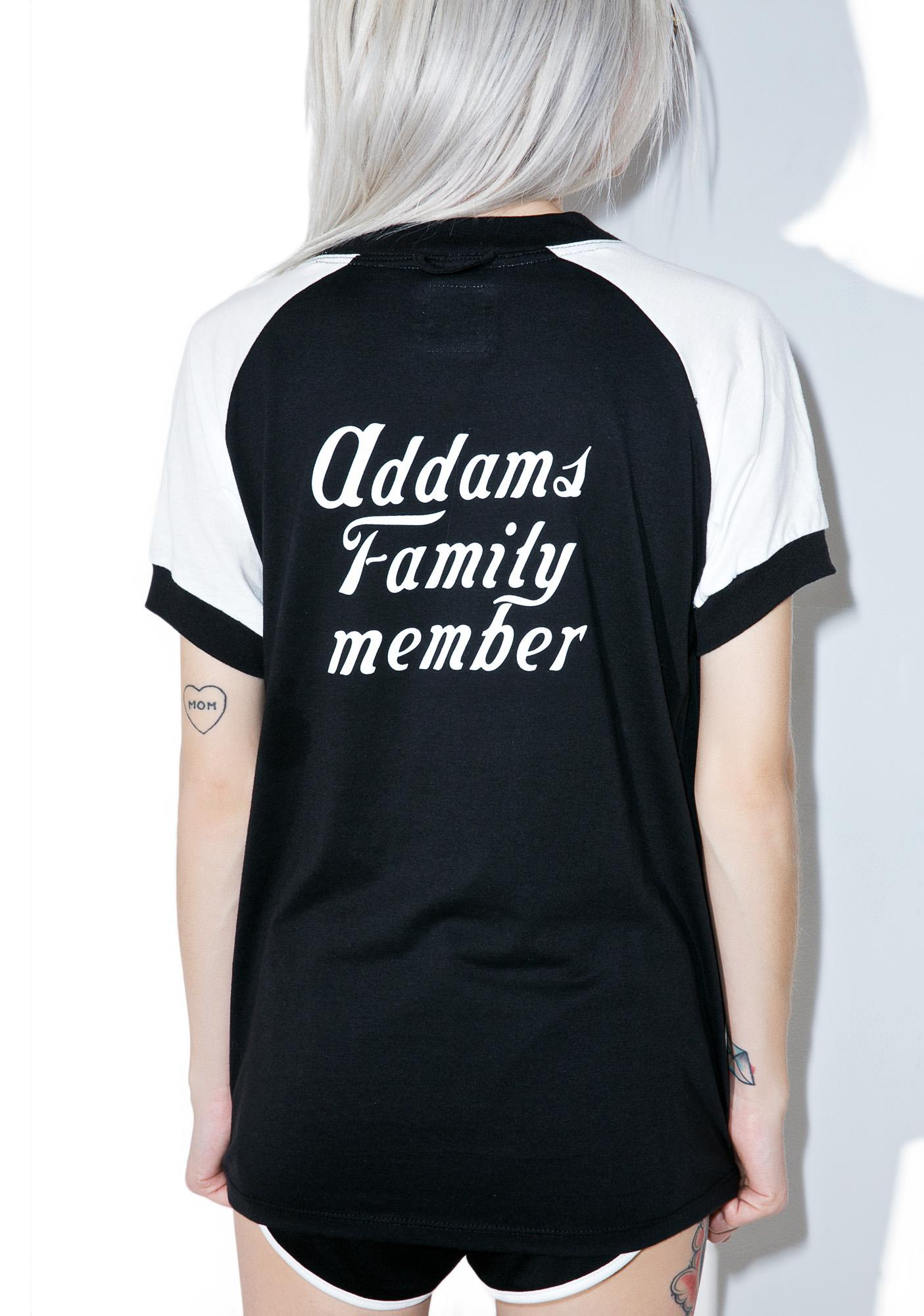 Camp Collection X Dolls Kill Addams Family Tee
