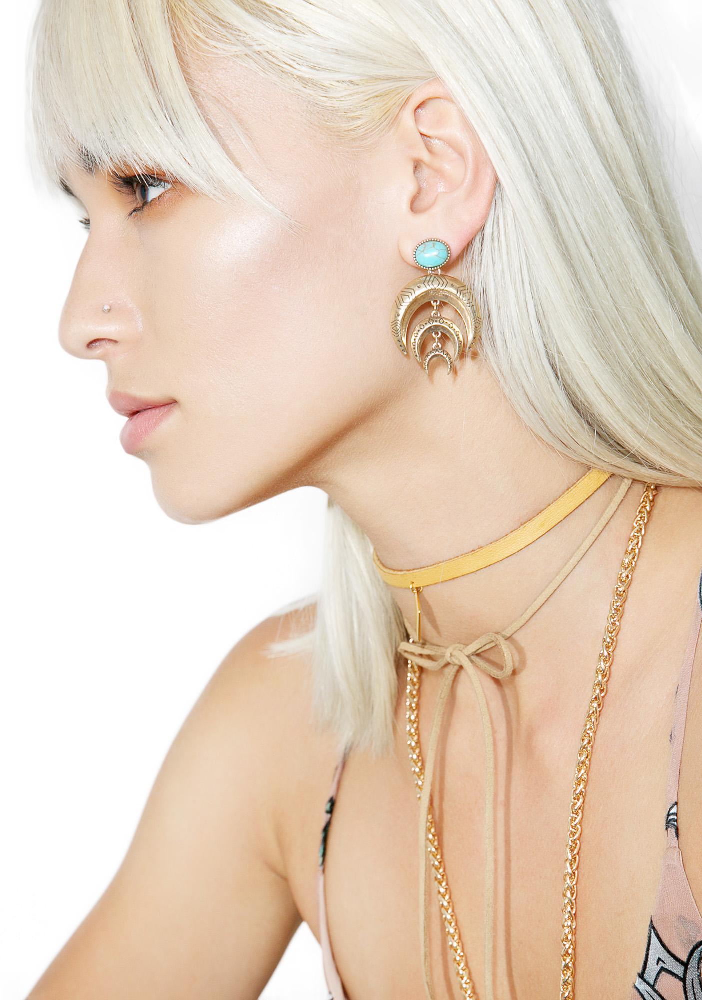Desert Moon Earrings
