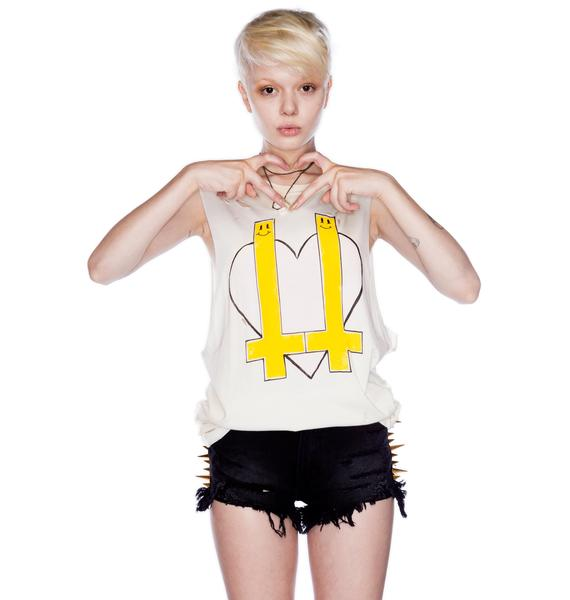 UNIF Inverted Heart Tank