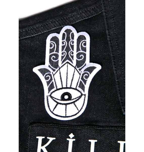 Killstar Hamsa Patch