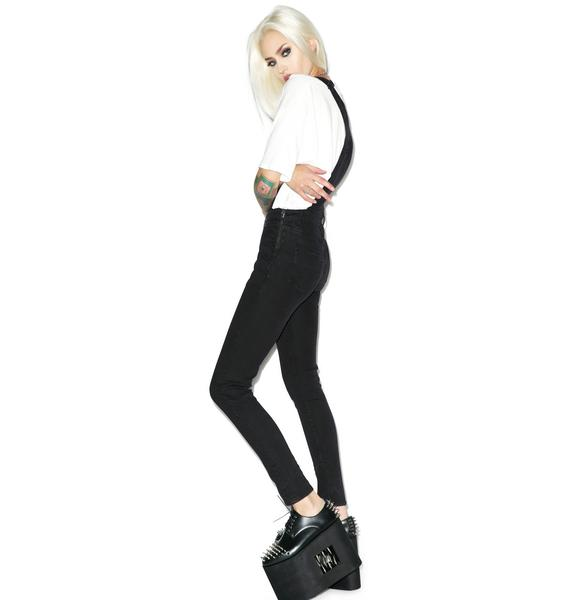 Cheap Monday Dungaree Black