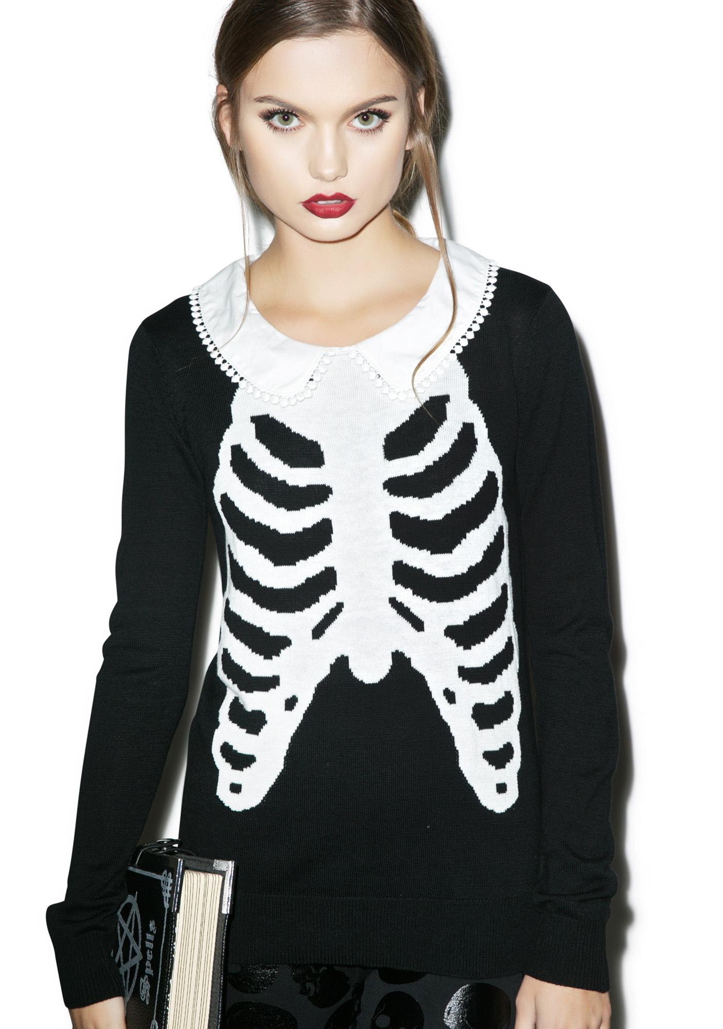 Iron Fist Wishbone Girly Sweater