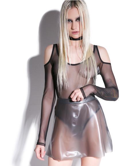 Smoke Plasmatic Skirt