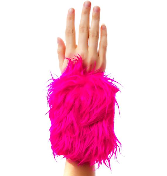 Get Freaky Furry Wrist Wallet