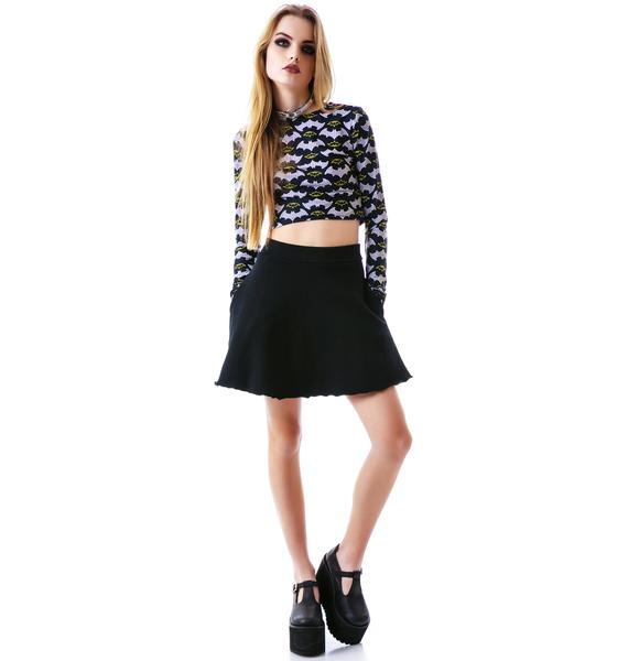 Groceries Apparel O La La French Terry Circle Skirt