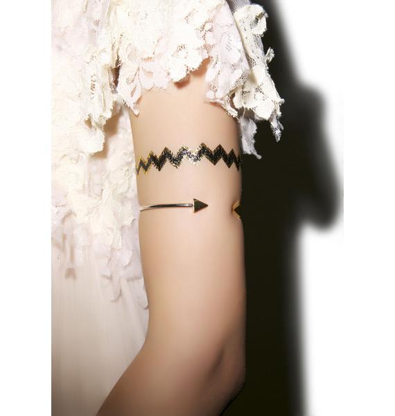 Live Free Jewel Temp Tattoo