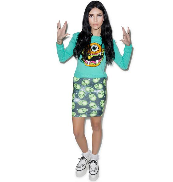 Iron Fist Area 51 Mini Skirt