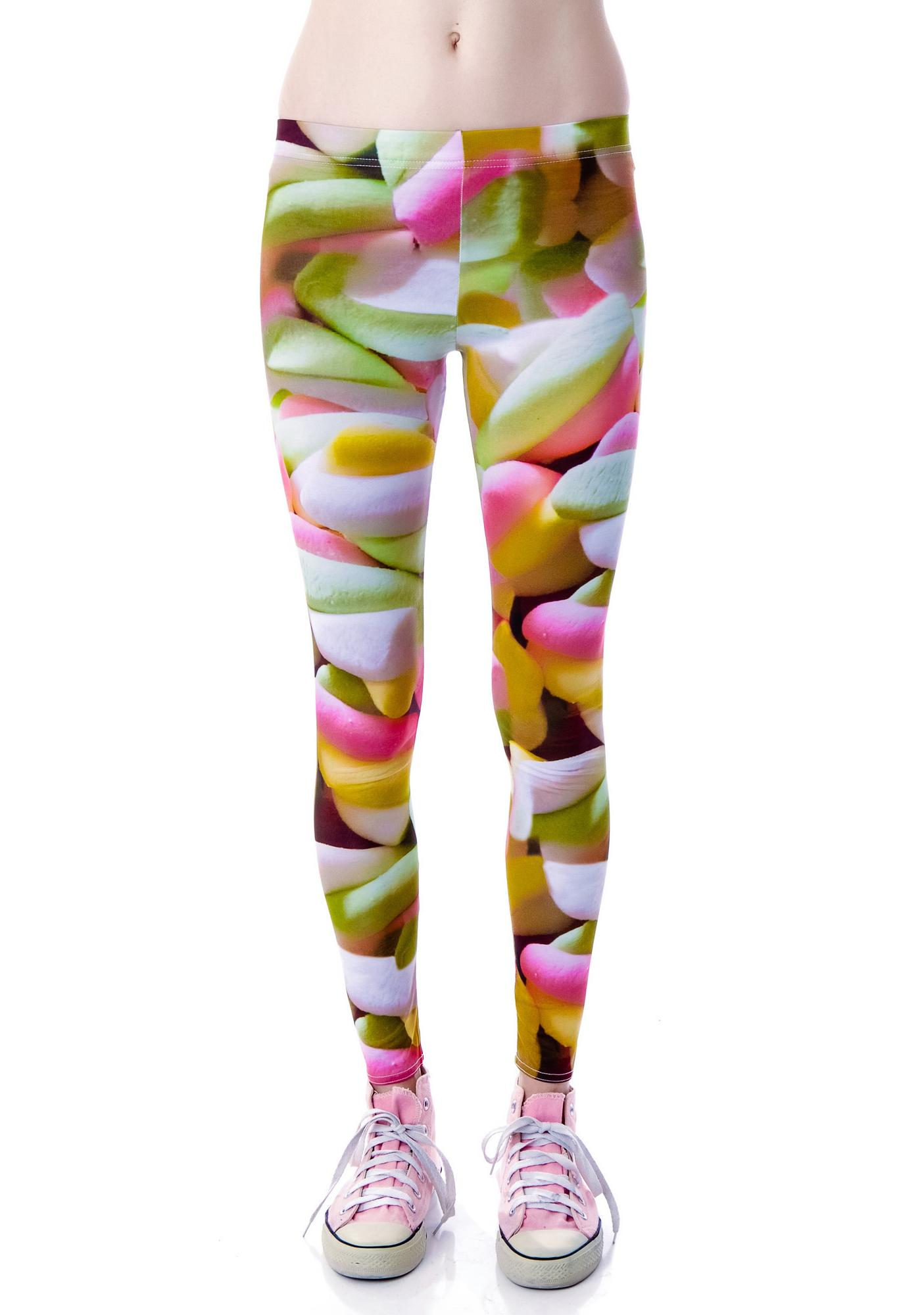 Marshmellow Flumps Leggings